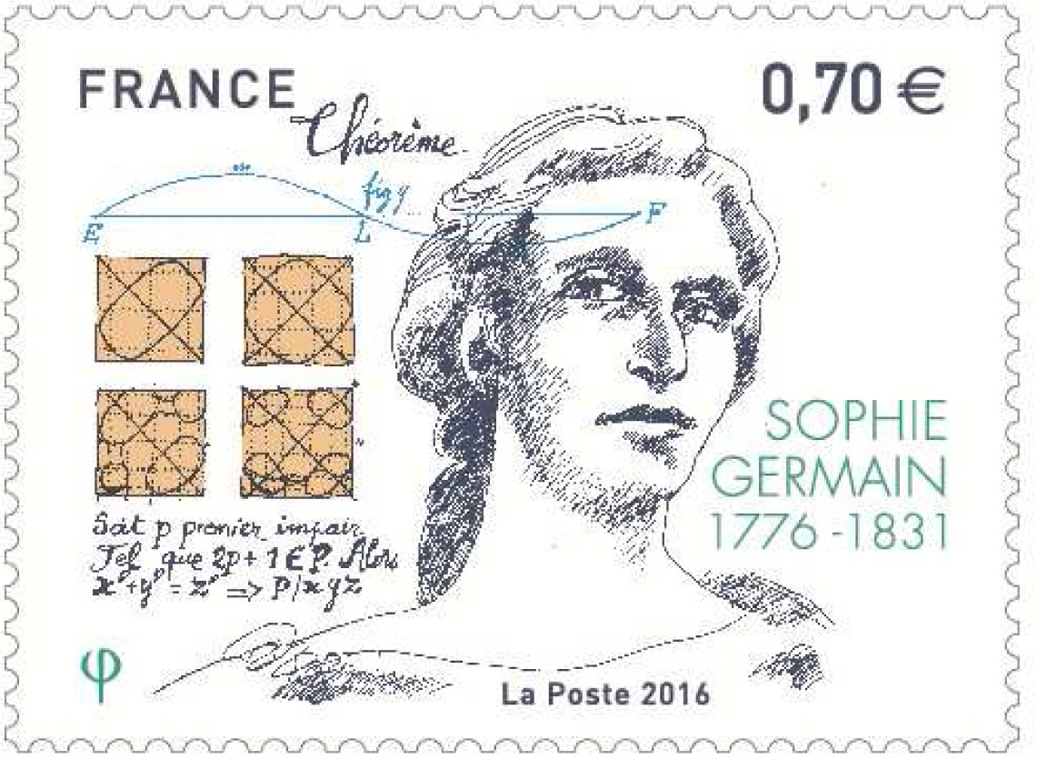 Emission Sophie Germain (1776 - 1831)
